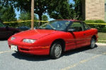 Joey Lynn Offutt - red Saturn coupe